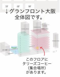 JR大阪駅からのアクセス